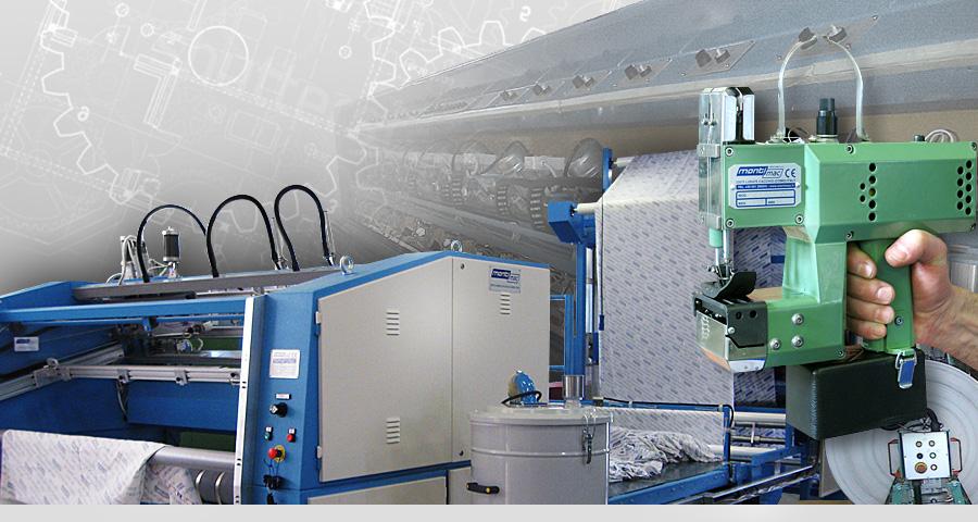 Macchine da cucire e impianti automatici for Macchine per cucire portatili